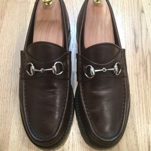 408261738 Gucci · Gucci Horsebit Loafers Brown